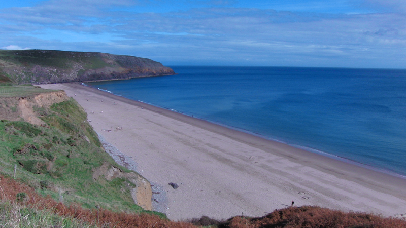 View of the Llyn Peninsula